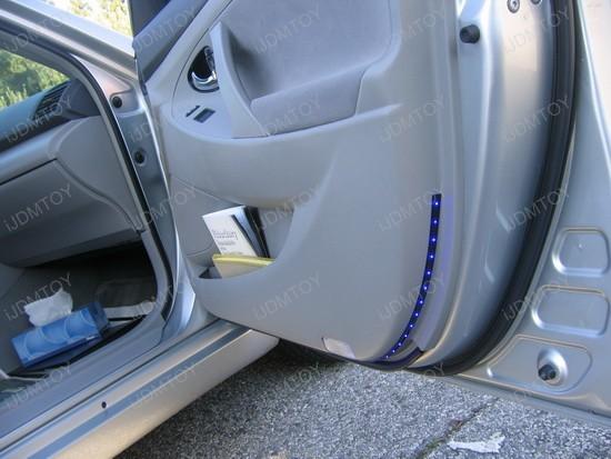 Toyota - Camry - LED - strips - side - door - lights - 1